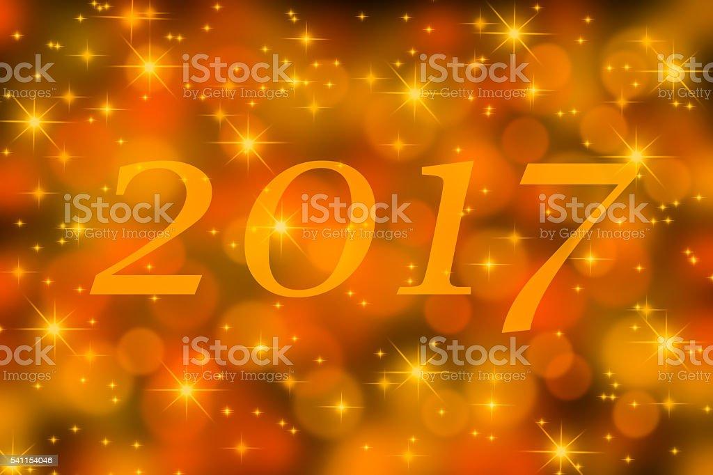 2017 new year stock photo