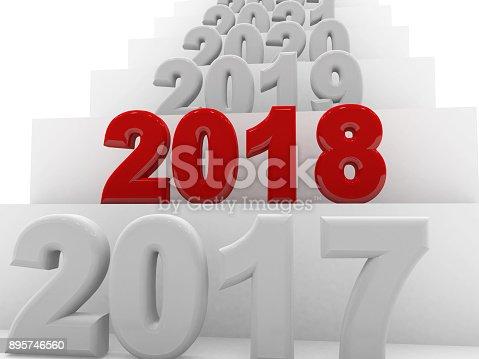 istock 2018 New Year 895746560