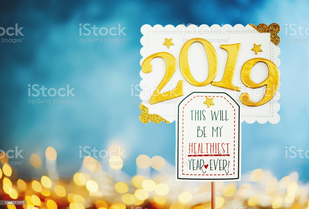 New Year resolution 2019 for healthiest year ever