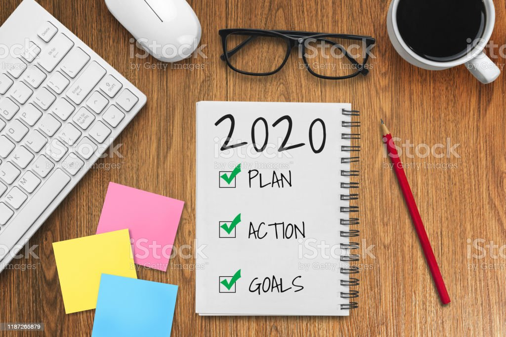 New Year Resolution Goal and Target Setting List 2020 - Business...