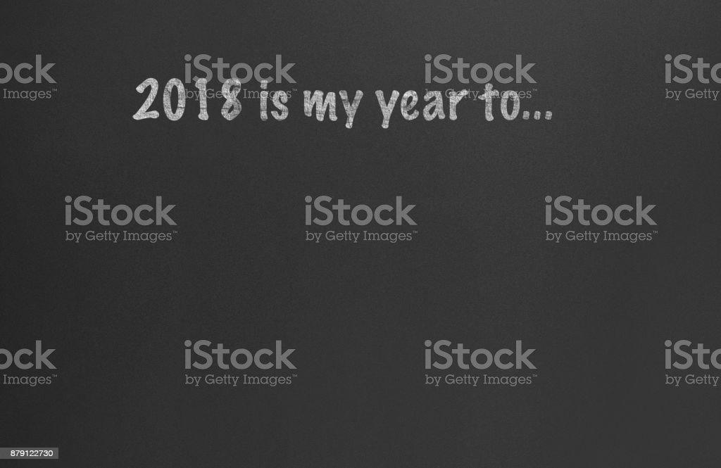 New Year Resolution Planning 2018
