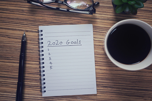 istock New Year resolutions concept. 1126003336