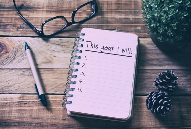 Image result for new year resolutions notebook photography