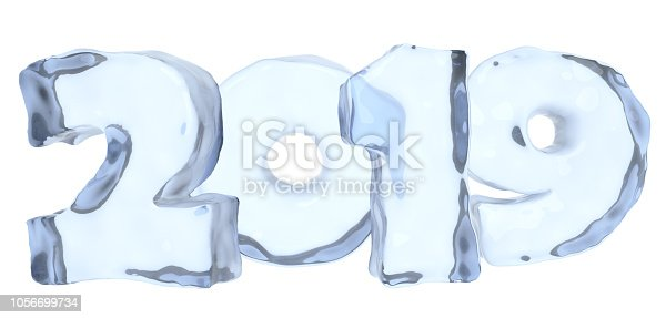 istock New Year text 2019 made of clear blue ice 1056699734