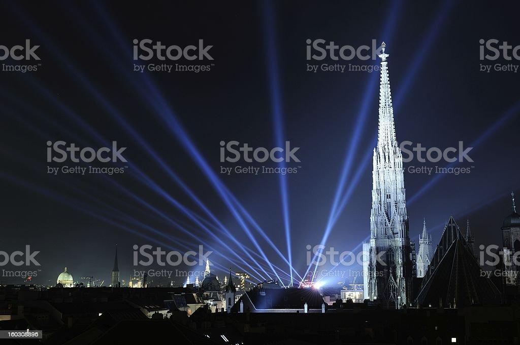 New Year Vienna 2011/2012 stock photo