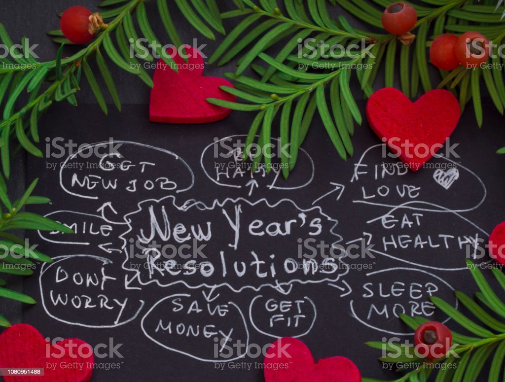 New Year'r Resolutions stock photo