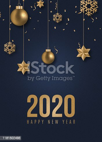 istock New Year's 2020 Background 1181502493