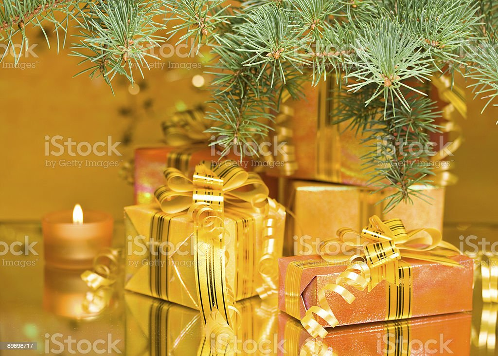 New Year's and Christmas decoration royalty free stockfoto