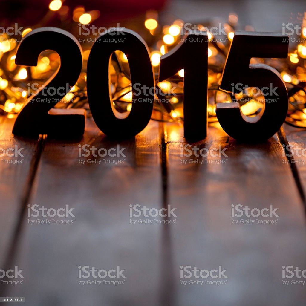 2015 new years background stock photo