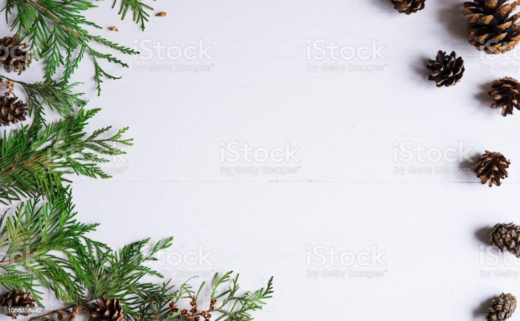 Marcos Para Fotos De Arbol De Navidad.Composicion De Ano Nuevo Marco Para Texto Con Arbol De