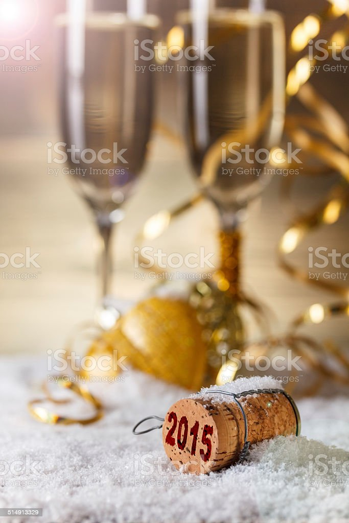 New Year's concept - Royalty-free 2015 Stock Photo