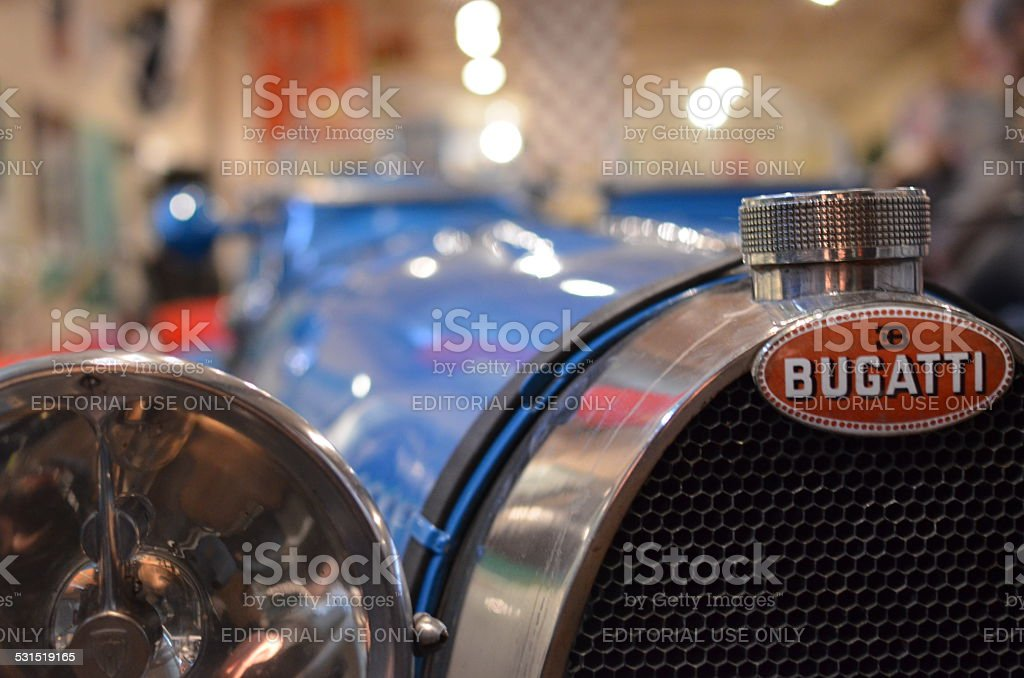 New Year's Day gathering of vintage car's at Brookland's. stock photo