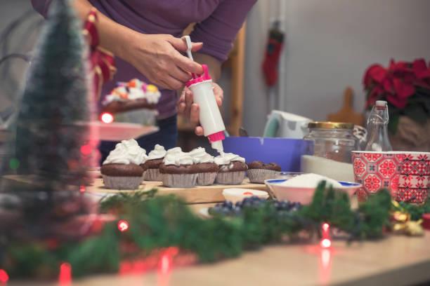 neue jahre dessert - küche deko blog stock-fotos und bilder