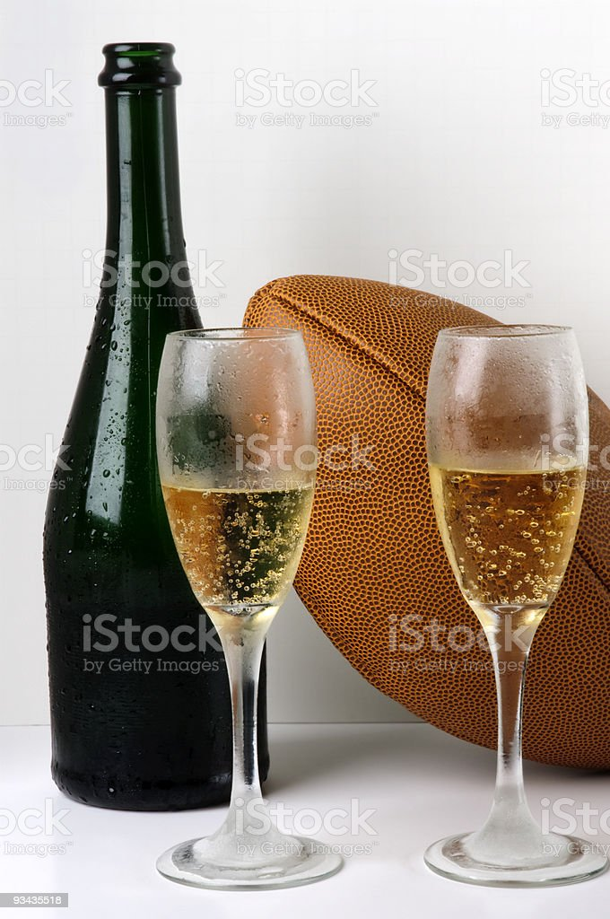 New Year's drinks - Royalty-free Alcohol - Drink Stock Photo
