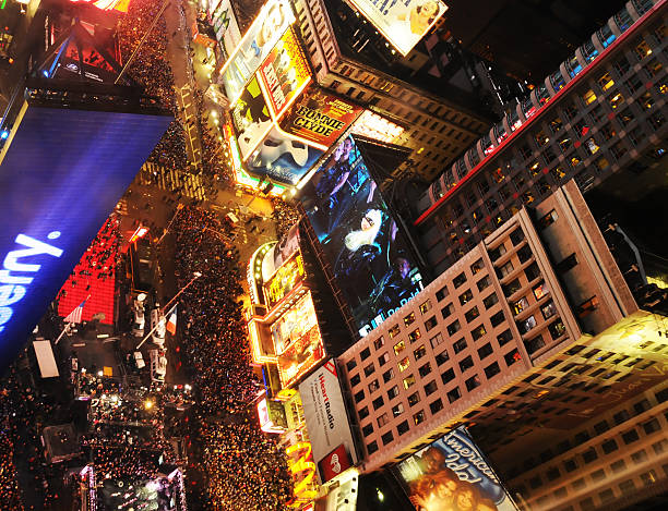 Silvester 2012 in Times Square, NYC – Foto
