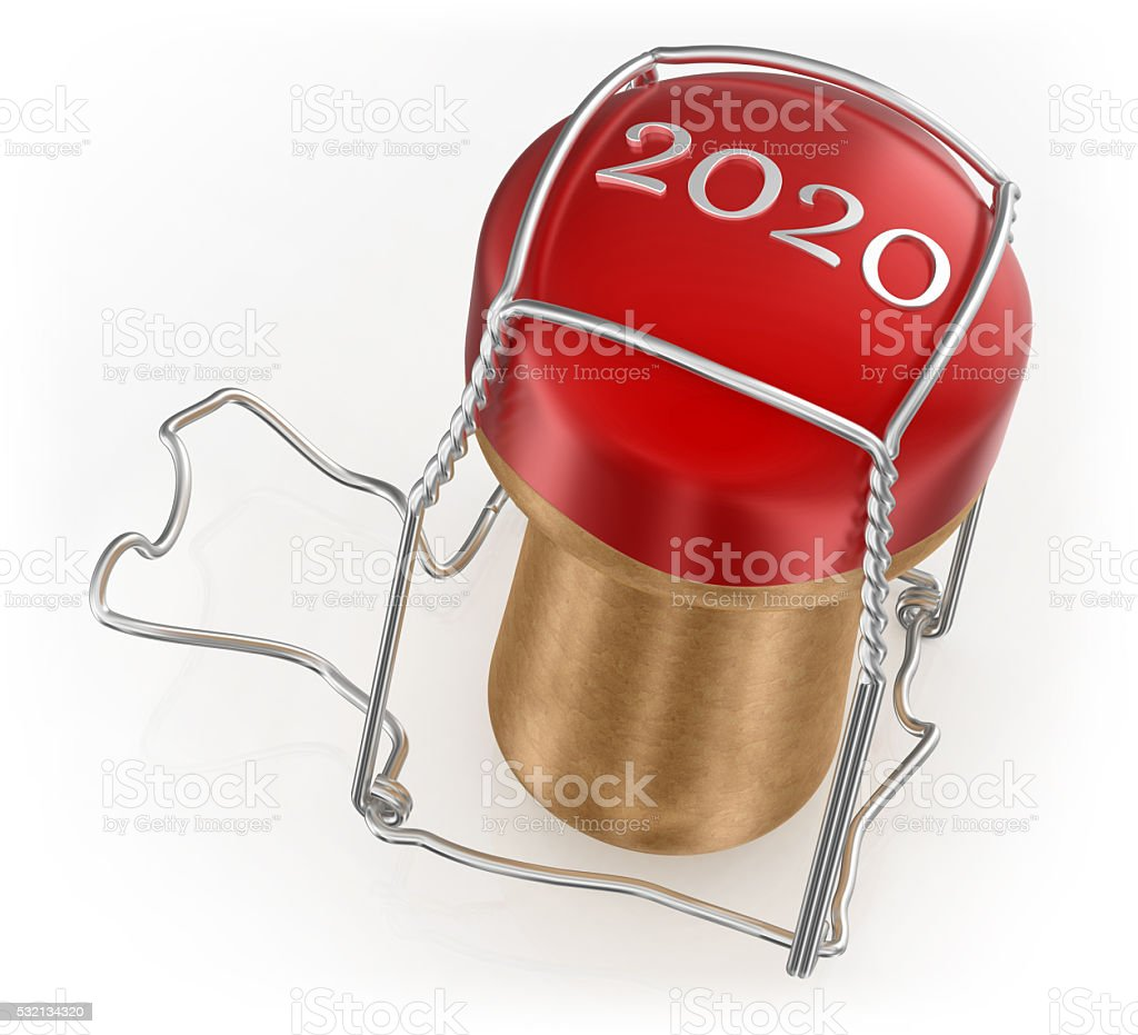 New Year's Eve 2020 stock photo