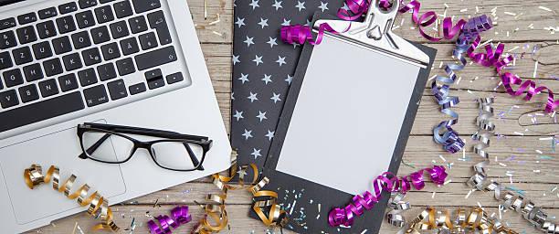 new years eve business card - frohes neues jahr stock-fotos und bilder