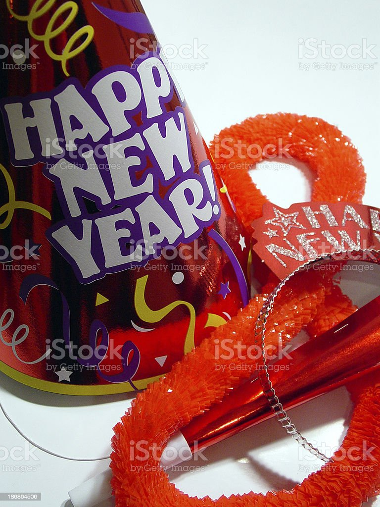 New Year's Eve Hat 2 royalty-free stock photo
