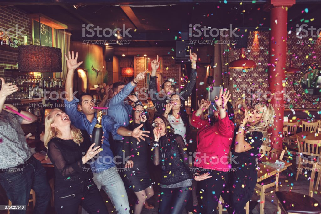 New Years Eve Party stock photo