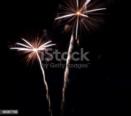 636207118istockphoto New years fireworks 94097763