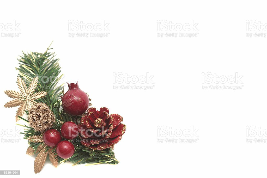 New Year's ornaments are royalty-free stock photo