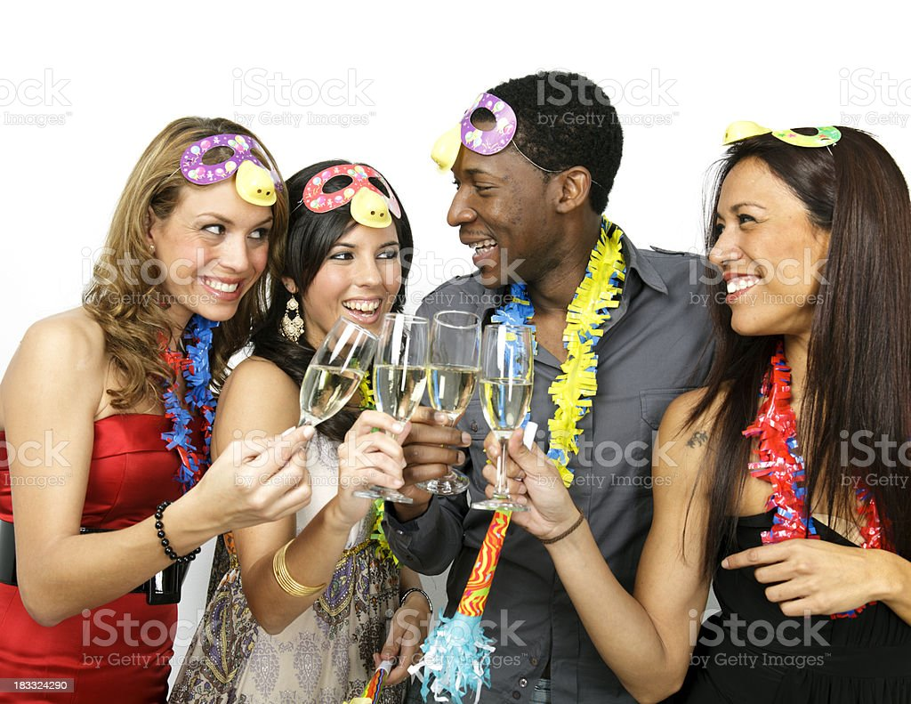 New year's party royalty-free stock photo