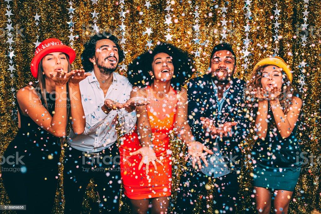 Festa de ano novo - foto de acervo