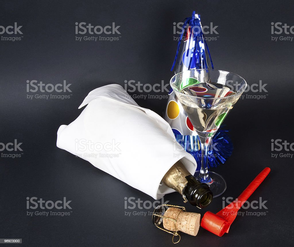 New years Party royalty-free stock photo