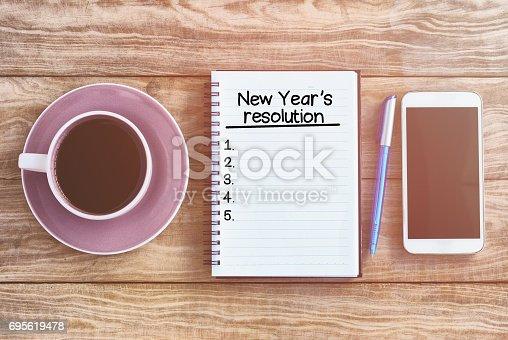 478203597istockphoto New year's resolution 695619478