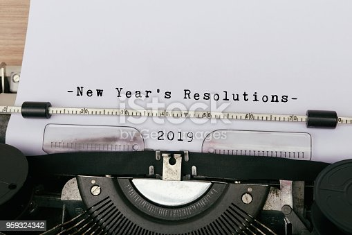 istock 2019 New Year's Resolution 959324342