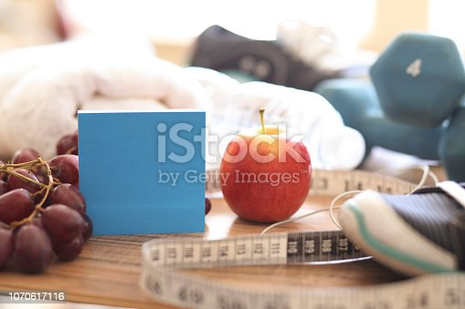1070617536 istock photo New Year's Resolution to Get Healthy! 1070617116