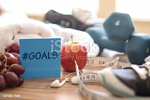 1070617536 istock photo New Year's Resolution to Get Healthy! 1070617690