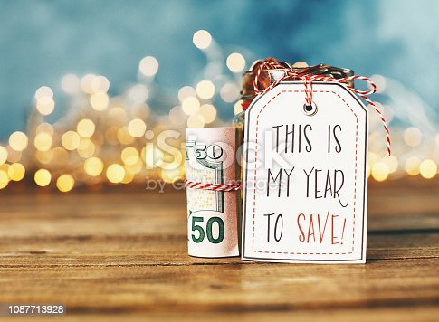 New Year's Resolutions 2019. Year to Save
