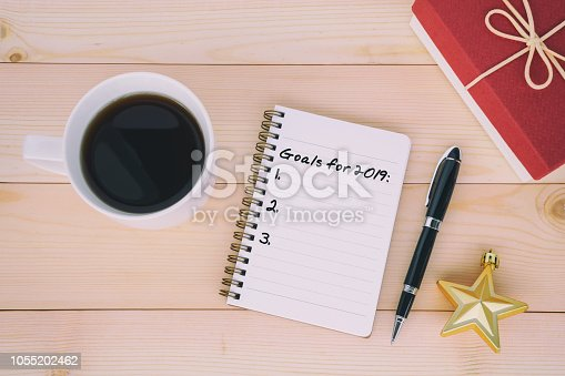 1057357020istockphoto 2019 New Year's Resolutions 1055202462