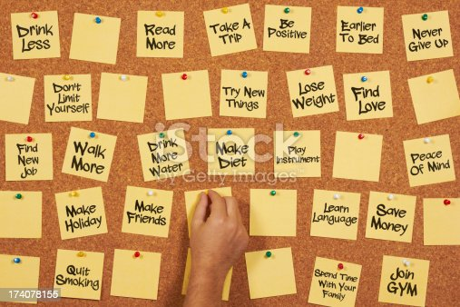 478203597 istock photo new year's resolutions 174078155