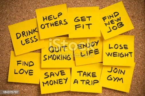 478203597 istock photo new year's resolutions 184375797