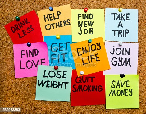 478203597 istock photo new year's resolutions 535963383