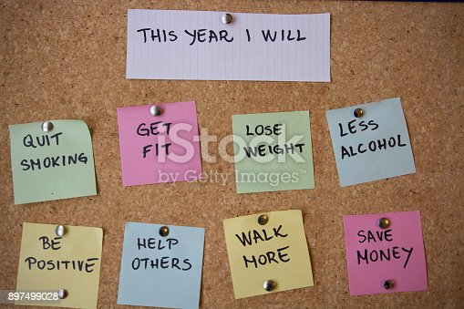 478203597 istock photo New year's resolutions 897499028