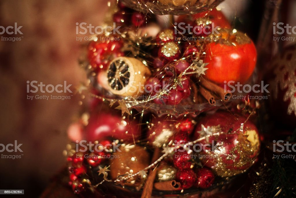 New Year's still life stock photo