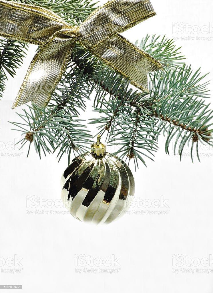 new year's tree toy royalty-free stock photo