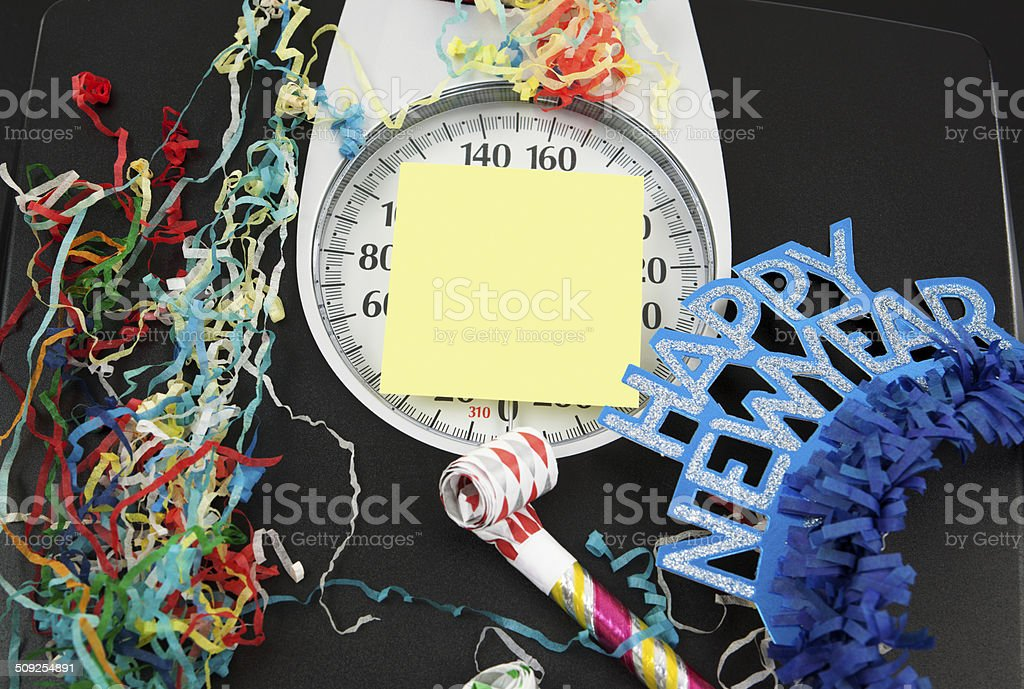 New Year's: Weight Loss Concept stock photo