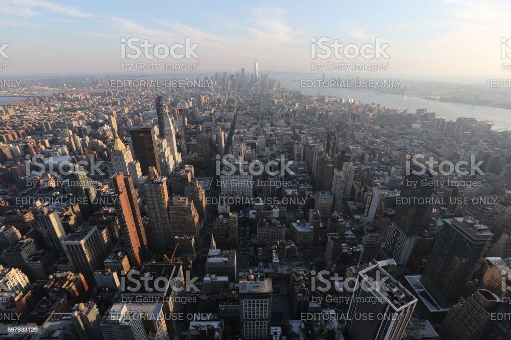 New York. America, New York City - May 13, 2017 stock photo