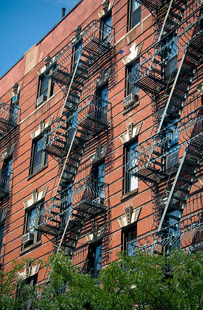 New York Apartment stock photo