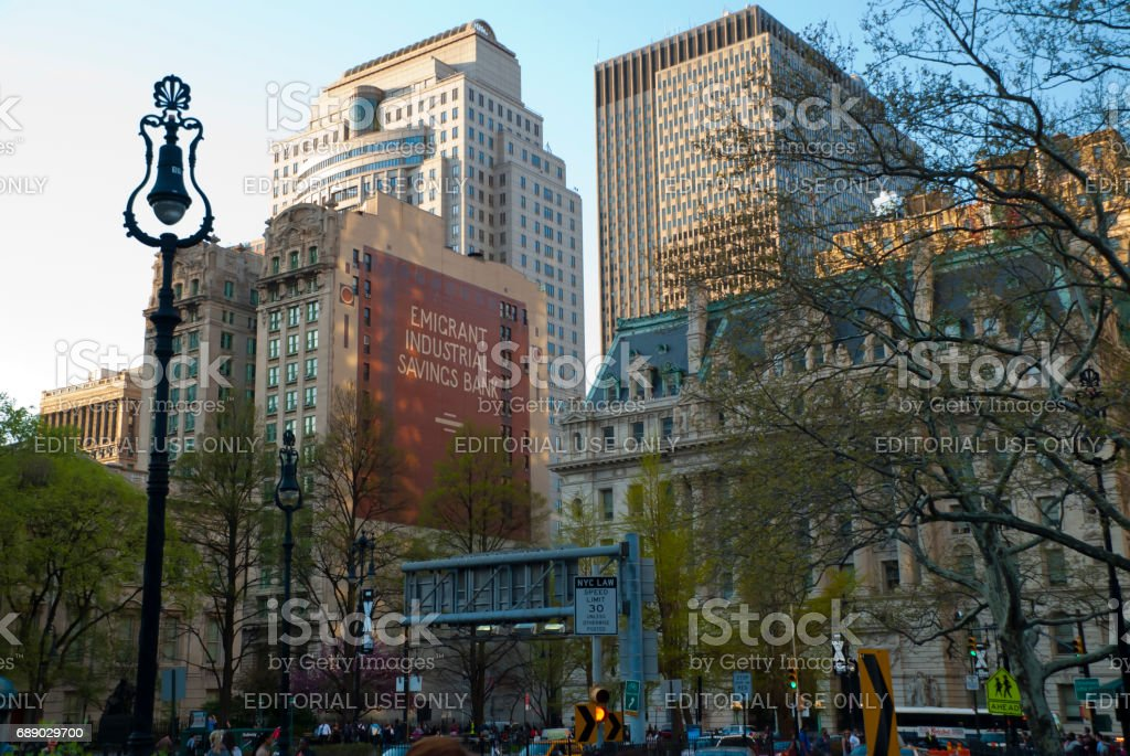 New York architecture stock photo