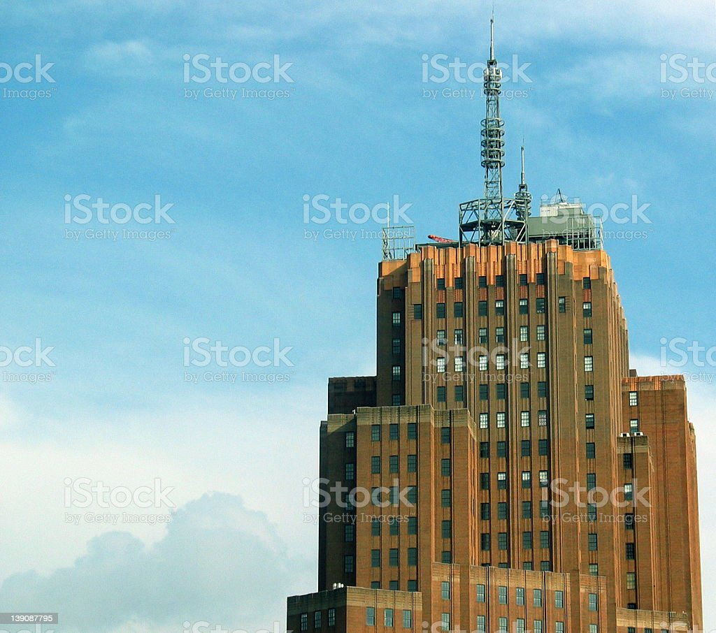 New York AT&T Building stock photo