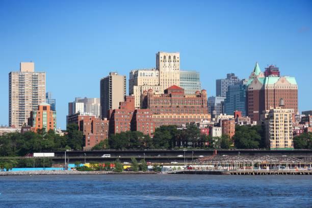 New York Brooklyn skyline stock photo