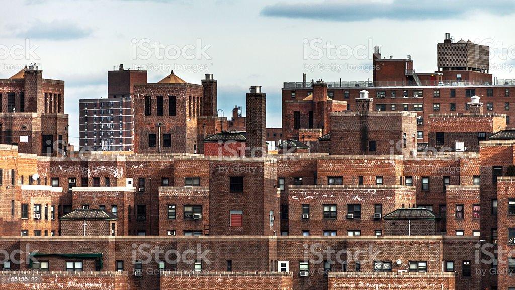 New York buildings. stock photo