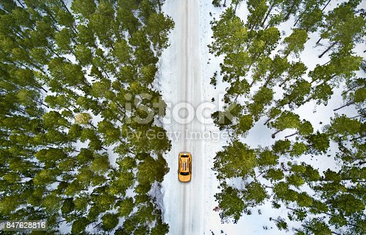 istock New york cab driving in the snow 847628816