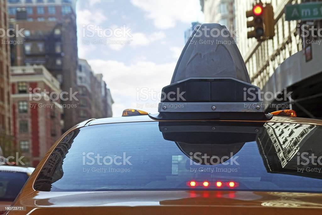 New york cab Verkehr – Foto