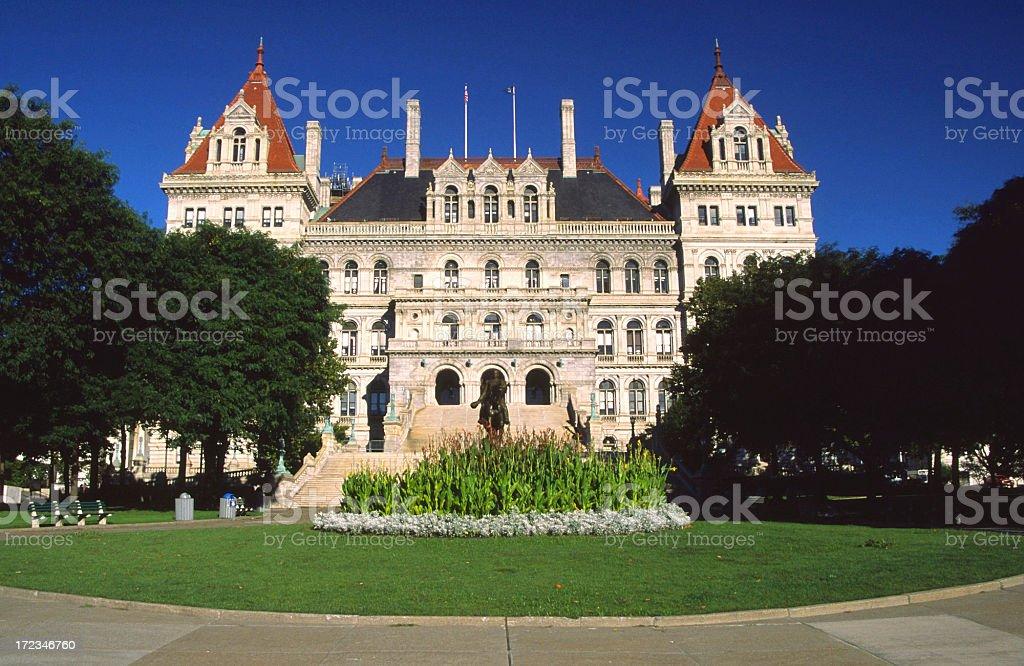 New York Capitol royalty-free stock photo